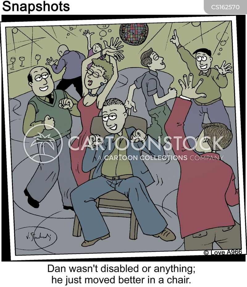 dancefloor cartoon