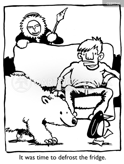 polarbears cartoon