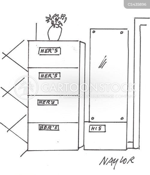 gender relations cartoon