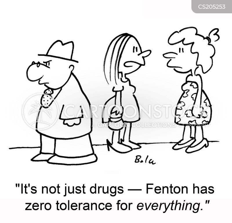 drug user cartoon