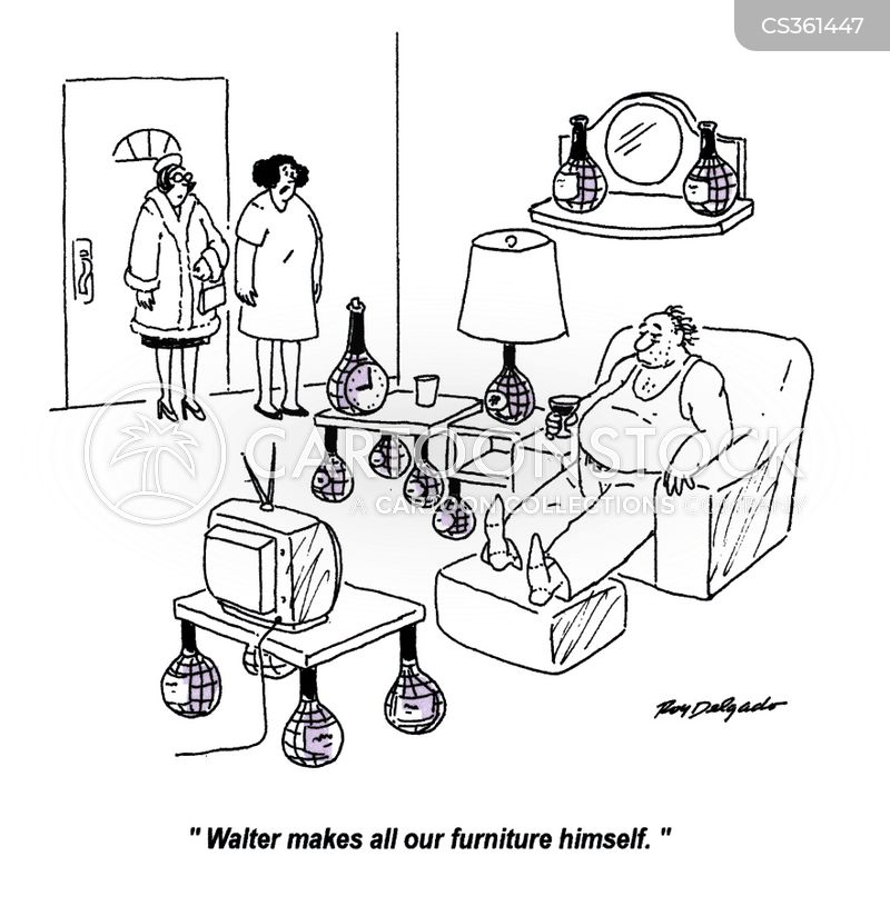 furnish cartoon