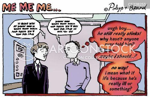 hygeine cartoon