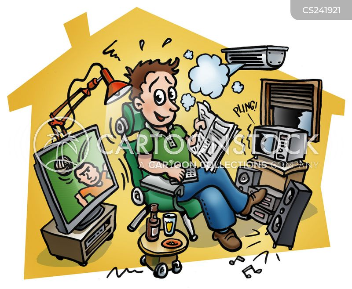 electrical goods cartoon