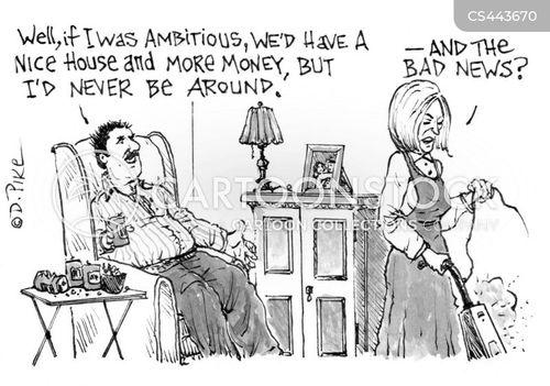 financial issues cartoon