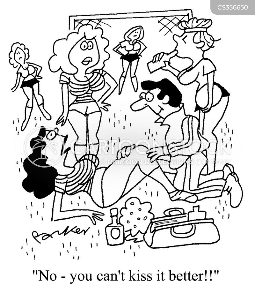 patronised cartoon