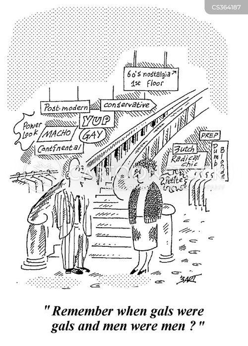 metrosexual cartoon