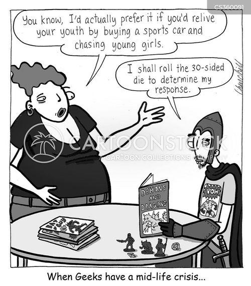 regressing cartoon