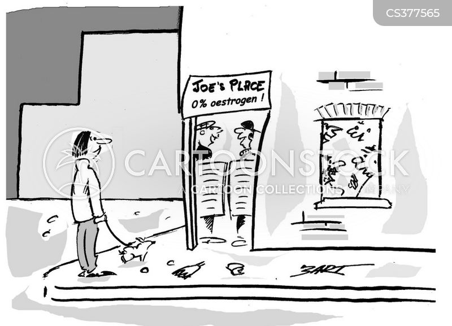 oestrogen cartoon