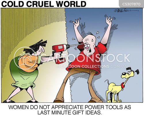 unimaginative cartoon