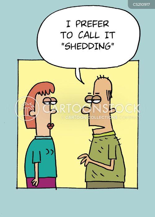 molting cartoon
