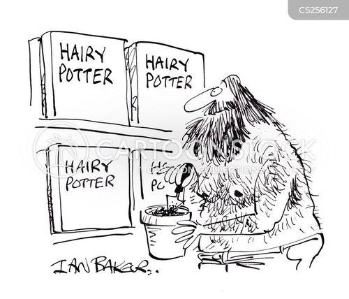 pottering cartoon