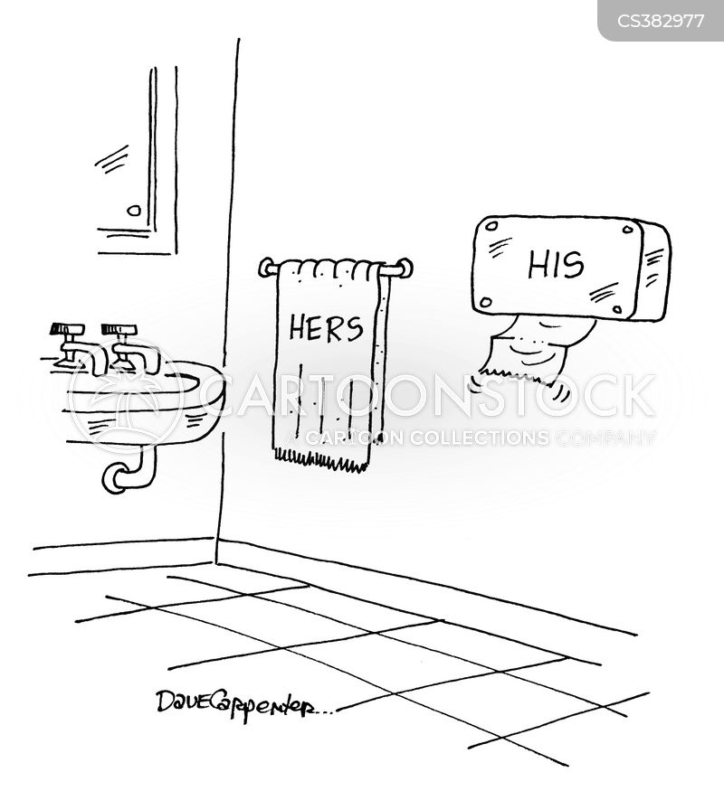 pub toilets cartoon