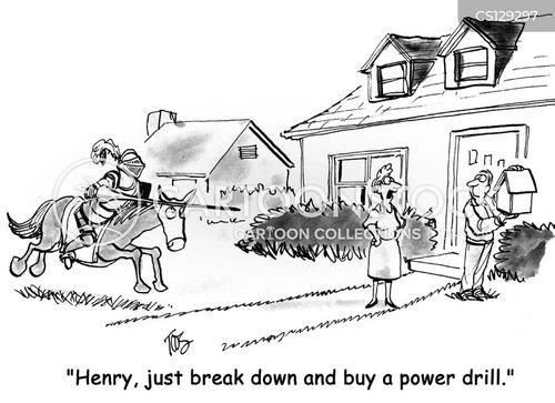 home depot cartoon