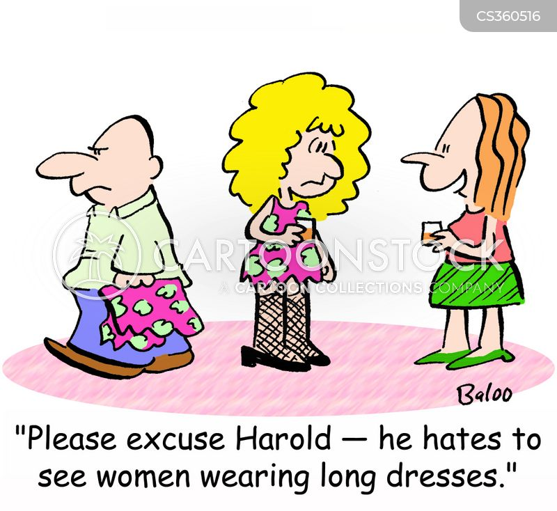 short dresses cartoon