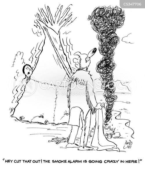 wigwam cartoon