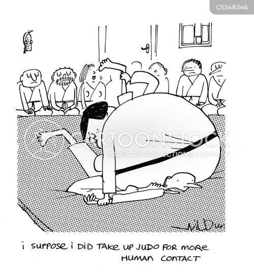 pinned cartoon