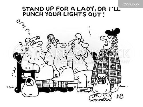 ladylike cartoon