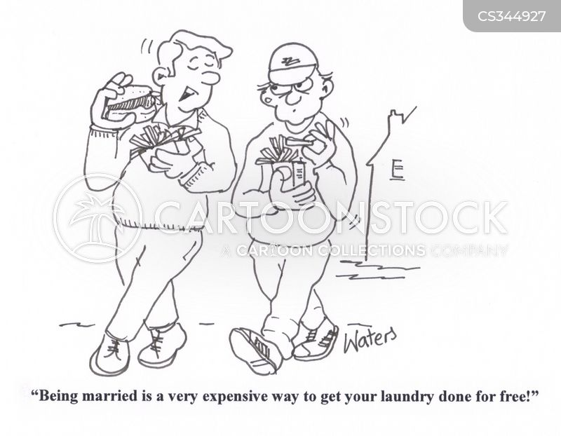dry-cleaning cartoon