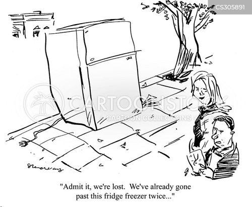 fridge freezer cartoon