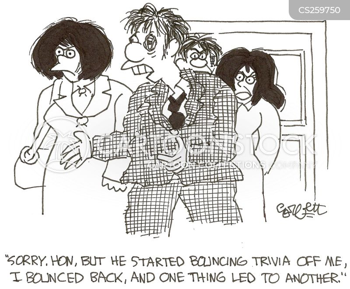 trivia contest cartoon