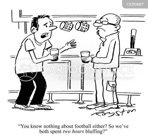 fakery cartoon