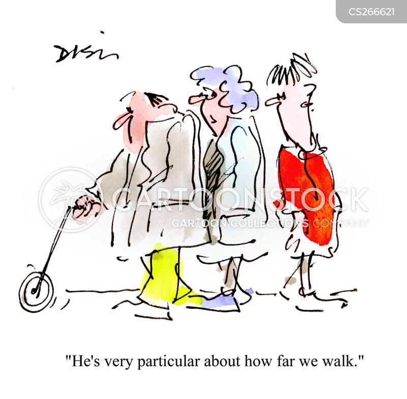 lack of exercise cartoon