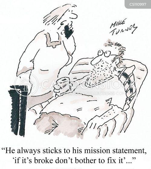 mends cartoon