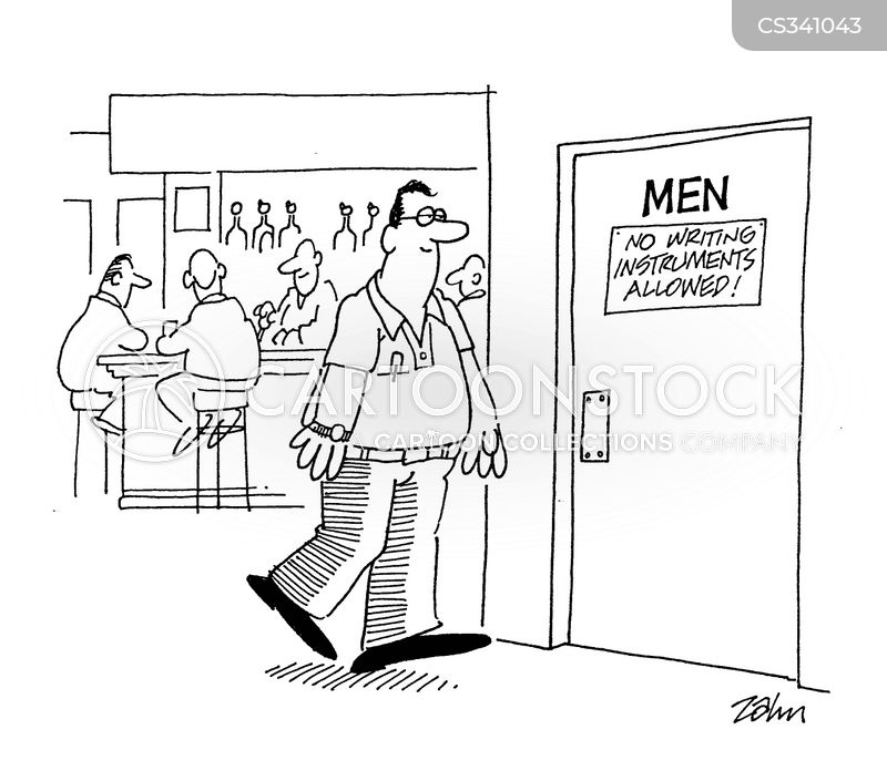 Kilt Bathroom Sign mens rooms cartoons and comics - funny pictures from cartoonstock