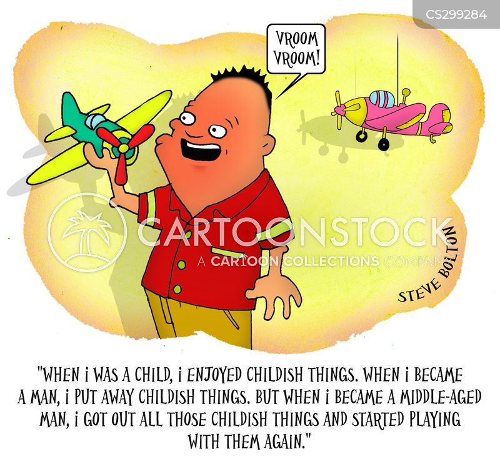 childish thing cartoon