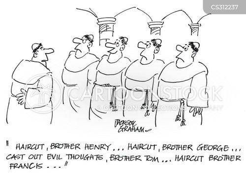 monestary cartoon