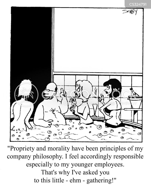 propriety cartoon