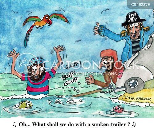 drunken sailor cartoon