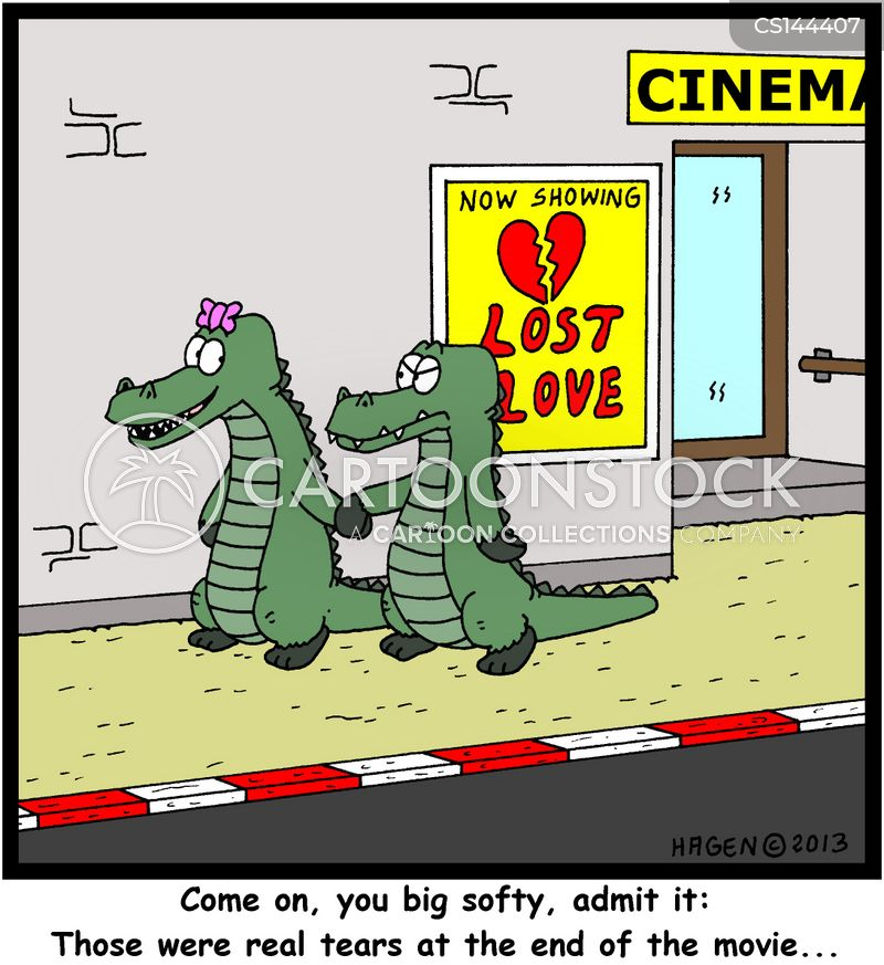 Crocodile Tears >> Tear Jerker Cartoons and Comics - funny pictures from CartoonStock