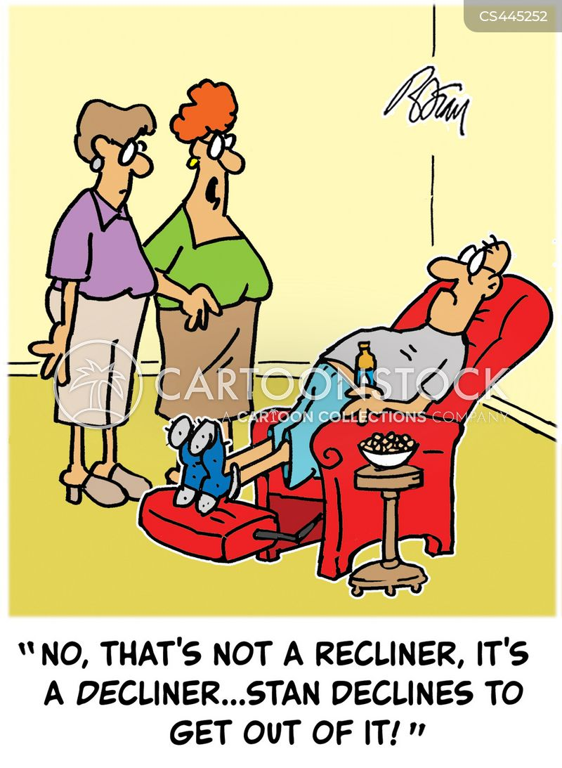 dad chair cartoon