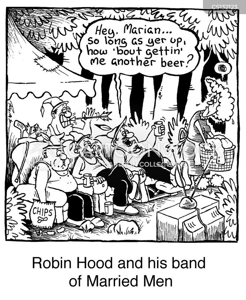 Robin Hood And His Band Of Married Man cartoons, Robin Hood And His Band Of Married Man cartoon, funny, Robin Hood And His Band Of Married Man picture, Robin Hood And His Band Of Married Man pictures, Robin Hood And His Band Of Married Man image, Robin Hood And His Band Of Married Man images, Robin Hood And His Band Of Married Man illustration, Robin Hood And His Band Of Married Man illustrations