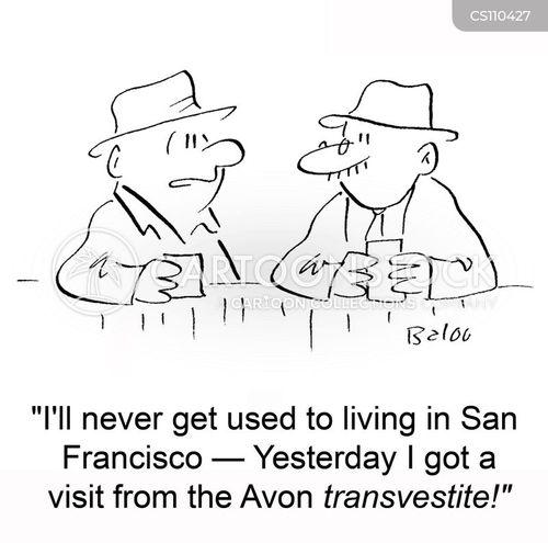 san francisco cartoon