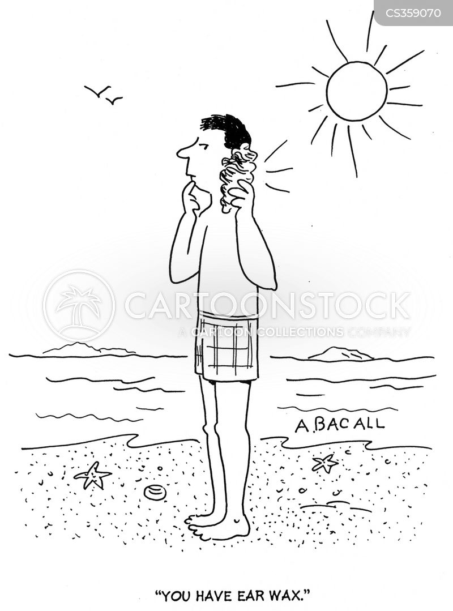 talking sea shell cartoon
