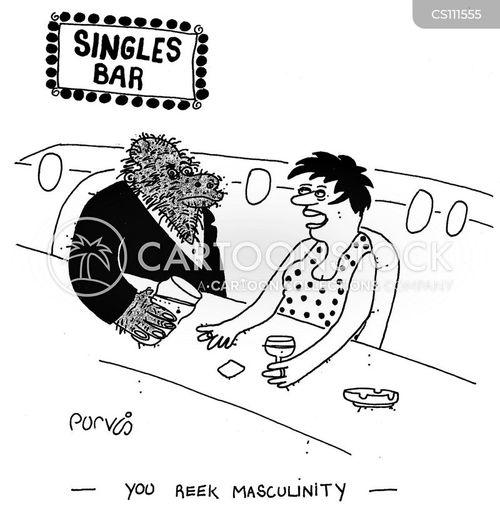 machos cartoon