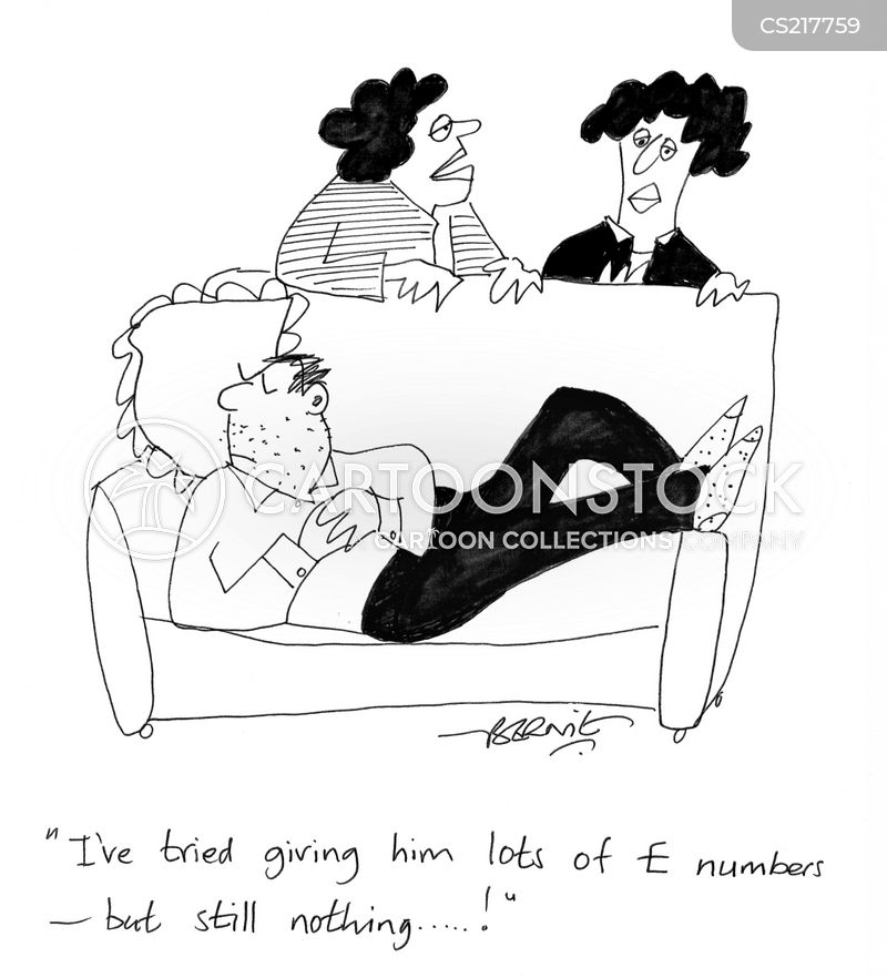 lethargic cartoon