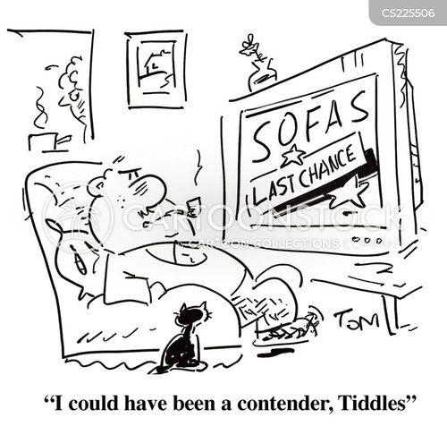contender cartoon