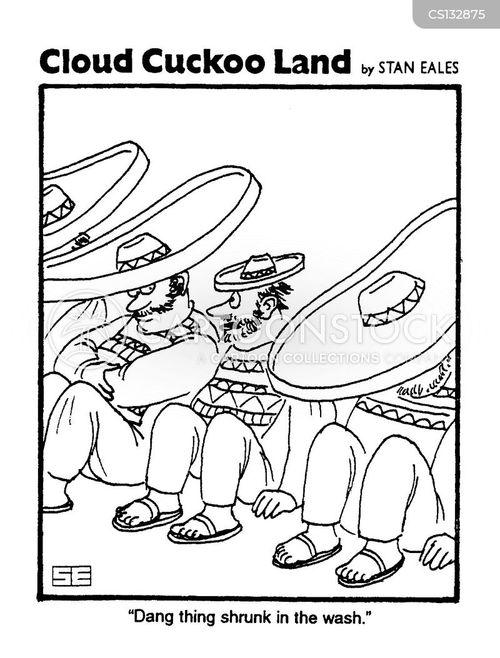 sombreros cartoon