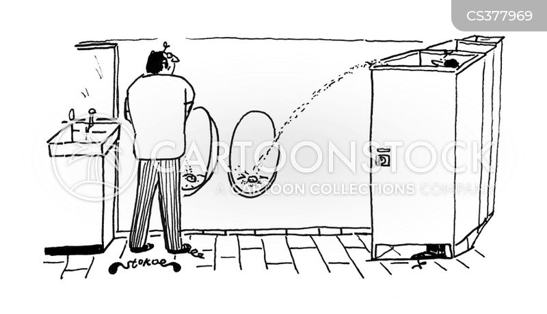 public loos cartoon