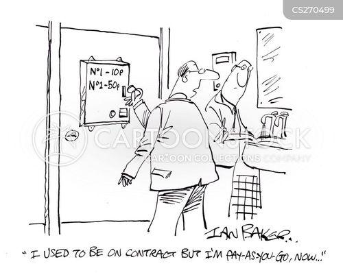 pay as you go cartoon