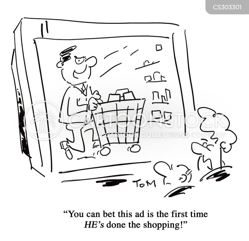 tv ad cartoon