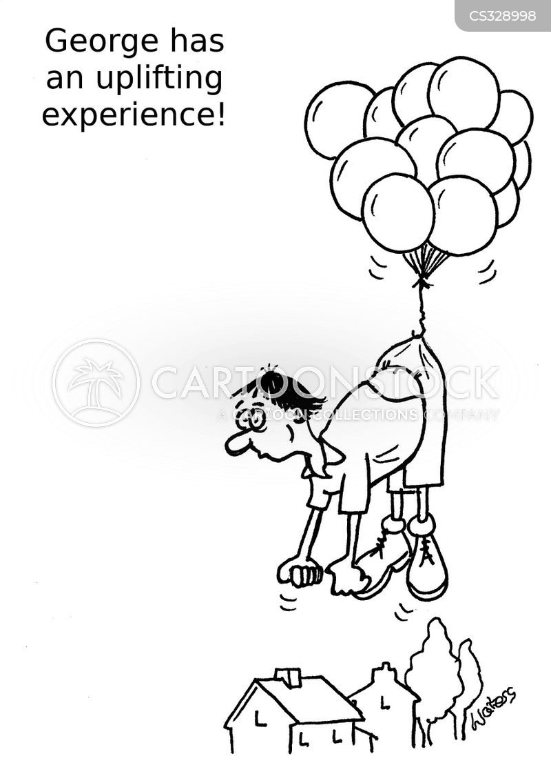 uplifting experience cartoon