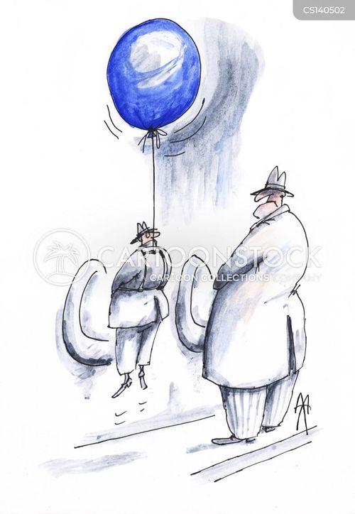 two men cartoon