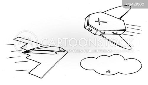 stealth bomber cartoon