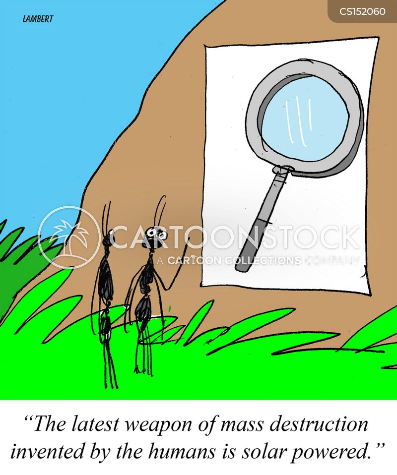 weapon of mass destruction cartoon