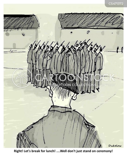 drill sergeants cartoon