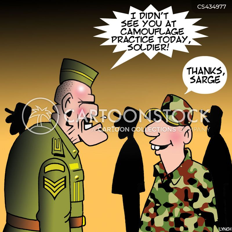 enlisted men cartoon